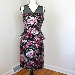 Enfocus Studio Floral Peplum Dress, 8
